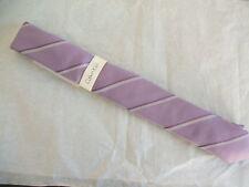 "Skinny 2"" purple Calvin Klein ""Indy Slim Stripe"" dress tie"