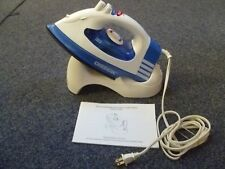 Oreck Cord-Free Cordless Steam Iron JP8100C Excellent Condition, Cradle, Manual