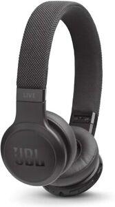 JBL Live 400BT Bluetooth On-Ear Wireless Headphones NEW Black High Quality