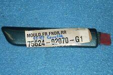 1993-1997 Toyota Corolla Left Front Fender Molding/Trim, O.E.M.-NEW-N.O.S. G1