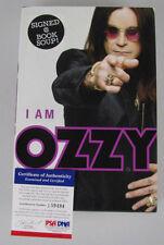 OZZY OSBOURNE Hand Signed Autobiography Book + PSA DNA COA J59494