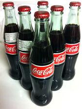 6 Pack COCA COLA COKE MEXICO MEXICAN 355 ml / 11.5oz Collectible import