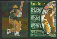 FUTERA 1996 CRICKET ELITE MARK TAYLOR TEAM LEADER CARD No 21