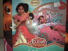 Disney Elena Avalor 4 Piece Full Sheet Set Kids New Microfiber Pink Colors