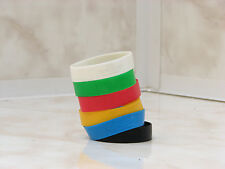 Coca cola bracelets UEFA 2012 Poland Ukraine soccer colors used rare 6pc sponsor