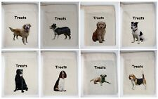 Cotton Dog Treat Bag Just add your own Treats Breeds from Greyhound to Yorkie