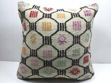 """Anatolia Kilim Pillow Cover Sofa Decor Pillow 20""""x20"""" Boho Cushion Throw Pillows"""