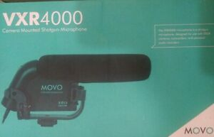 Movo VXR4000-PRO HD Condenser Video Microphone for DSLR Camera
