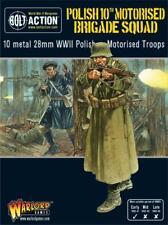 Polish 10th Motorised Brigade Squad - 28 mm 1/56th - Bolt Action-Seigneur de guerre