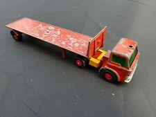 MATCHBOX KING SIZE FORD TRACTOR & TASKER TRANSPORTER K-20 VINTAGE DIECAST LESNEY