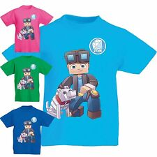 Dan TDM T-Shirt Fun l Cart DanTDM Adventures Kids Gamers gaming gift HD Boy