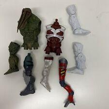 Marvel legends build a figure Parts