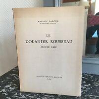 Maurice Junge der Zöllner Rousseau Accused Naiv Vier Chemins-Editart 1953