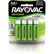 Rayovac AA Rechargeable 8-pack - 1350 mAh NiMH (LD71-8OP) Recharge Battery