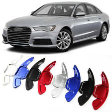 Alloy Steering Wheel DSG Paddle Extension Shifters Cover Fit For Audi A6 12-18