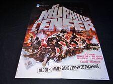 LES MURAILLES DE L'ENFER affiche cinema  guerre 39-45 landi 1964