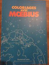 MOEBIUS JEAN GIRAUD COLORING BOOK ARTBOOK SKETCHBOOK SUPER RARE BIG Comic Art
