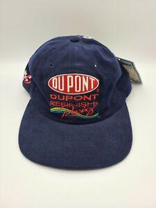 Vtg DUPONT REFINISH RACING NO. 24 Jeff Gordon Chase Authentics Hat Cap Snapback