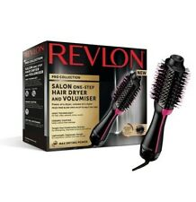 Revlon Pro Collection Salon One Step Hair Dryer Volumiser Hot Air Brush NEW 2020