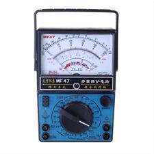 MF-47 Analog Multi Meters Volt Meterr Ammeter Ohm Meter Battery Tester