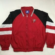 Starter Fargo Moorhead FM Redhawks Spring Fall Light Jacket Coat Large L