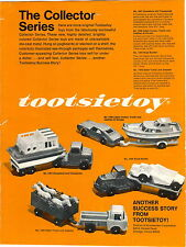 1969 ADVERT Tootsietoy Jeepster Houseboat Murray Thunderbird Pedal Car COLOR