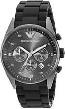 BRAND NEW EMPORIO ARMANI BLACK CHRONOGRAPH MEN WATCH AR5889