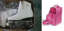 premium leather quad roller skates with free isk8 bag, sizes 2,3,4,5,6,7,8 BNWB