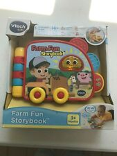 Vtech Baby Farm Fun Storybook Ages 3+ Months - New Other