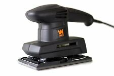 Electric 1/3 Sheet Sander Palm Power Amp New Finishing Corded Hand Grip Tool