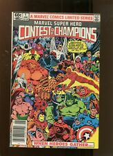 MARVEL SUPER HERO CONTEST OF CHAMPIONS #1 (9.2) WHEN HEROS GATHER! 1982