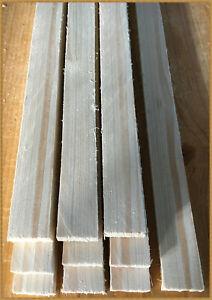 10 x  Holzleisten Bastelleisten Abdeckleisten  ca. 1m lang / 2 versch. Breiten