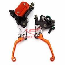 For KTM 65/85SX/XC 22mm Motorcycle Brake Clutch levers Master Cylinder Reservoir