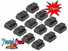 12PCS T-SLOT NUT M-12 THREAD & SLOT SIZE 18MM CLAMPING FOR TABLE SLOT - NEW