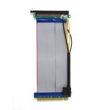 PCI-Express 16X Slot Carte Élévatrice Extendeur Extension Flexible Flexible