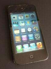 Apple iPod touch 4. Generation Schwarz (32GB) - MC544FD/A glassbruch.