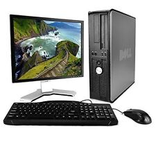 Dell OptiPlex Desktop Complete Computer Package with Windows Home 32-Bit