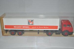 "Wiking 545/1D MB 1619 S Truck Trailer (""REGENT MOBEL"") for Marklin- NEW w/BOX"