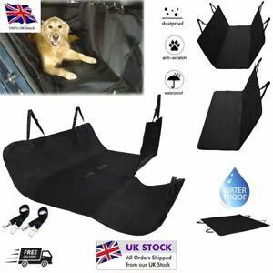 Pet Rear Car Seat Cover Nonslip Scratch/Waterproof Travel Hammock Dog Mat