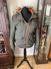 Mens Khaki Parka Jacket From Asos Size M Chest 38-40 Inches