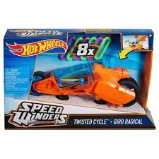 Hot Wheels Speed Winders Twisted Cycle ~ Orange ~NEW~