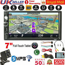 """7"""" Car Stereo Radio MP5 MP3 Player Double DIN Touch Screen Aux USB FM Radio"""
