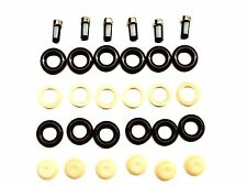 FUEL INJECTOR REPAIR KIT O-RINGS SPACERS FILTERS PINTLE CAPS FORD MAZDA 3.0L V6