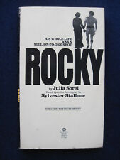 ROCKY - MOVIE TIE-IN EDITION of SYLVESTER STALLONE Oscar Winning Boxing Film