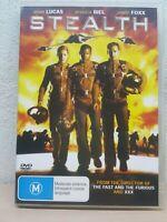 Stealth (DVD, 2006) Region 4 Jamie Foxx