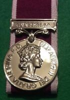 Replica Mini Medal for Long Service and Good conduct mounted