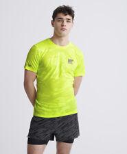 Superdry Herren Atmungsaktives Training T-Shirt Mit Tarnmuster
