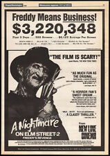 A NIGHTMARE ON ELM STREET 2: Freddy's Revenge__Orig. 1985 Trade AD promo_poster