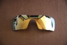 Polarlens oro 24k Polarizado Lente De Repuesto Para-Oakley Oil Rig Gafas de sol
