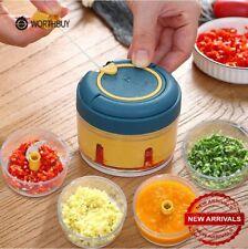 Fruit Vegetable Onion Garlic Cutter Food Speedy Chopper Kitchen Spiral Slicer